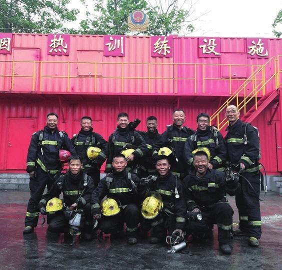 激情五月 不负韶华上海市公安消防总队灭火救援业务骨干培训手记