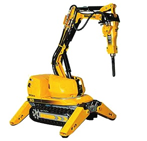 小身材  大能量世界最小破拆机器人投入使用