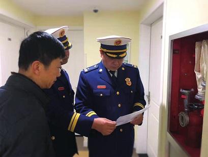 加强监管共促平安闵行消防支队与区房管局 联手落实物业服务企业消防责任
