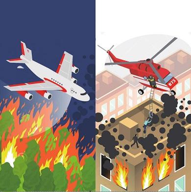 一条推特引出的航空消防话题