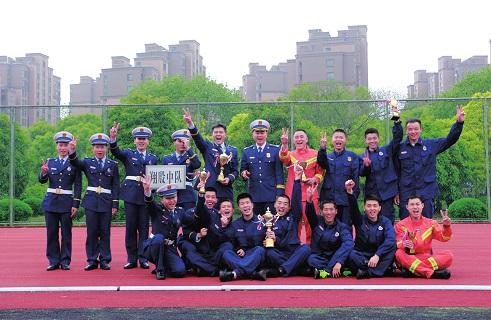 他们,为荣誉而战记翔殷消防中队跳绳队